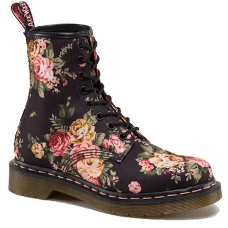 Victorian Flower Boots